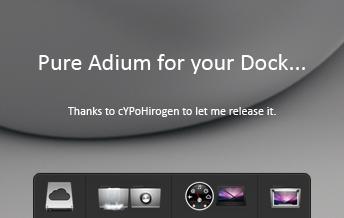 Pure Adium by cerium50