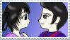 RobbiexRottenella Stamp by jocund-slumber