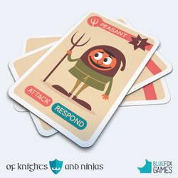 Of Knights And Ninjas card game - Peasant