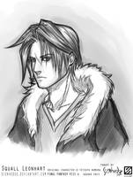 FF VIII Squall Leonhart by shallete