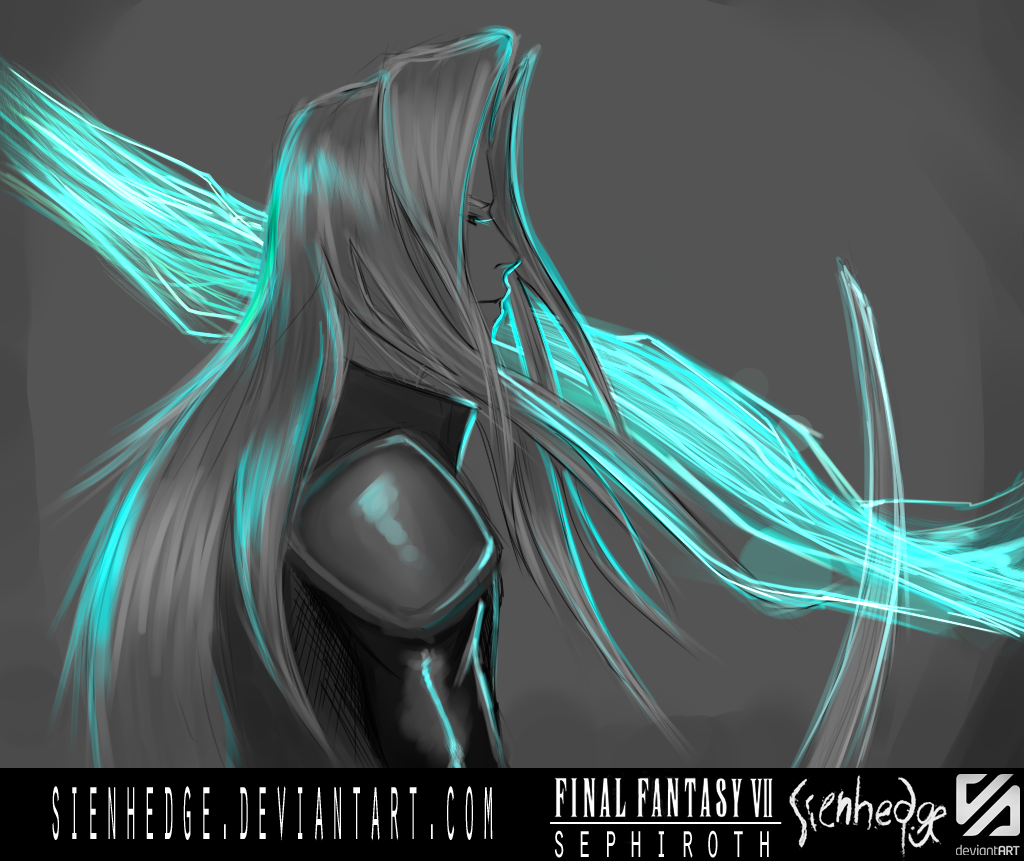 FF VII Sephiroth by shallete