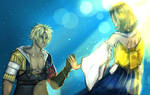 FFX: Yuna and Tidus
