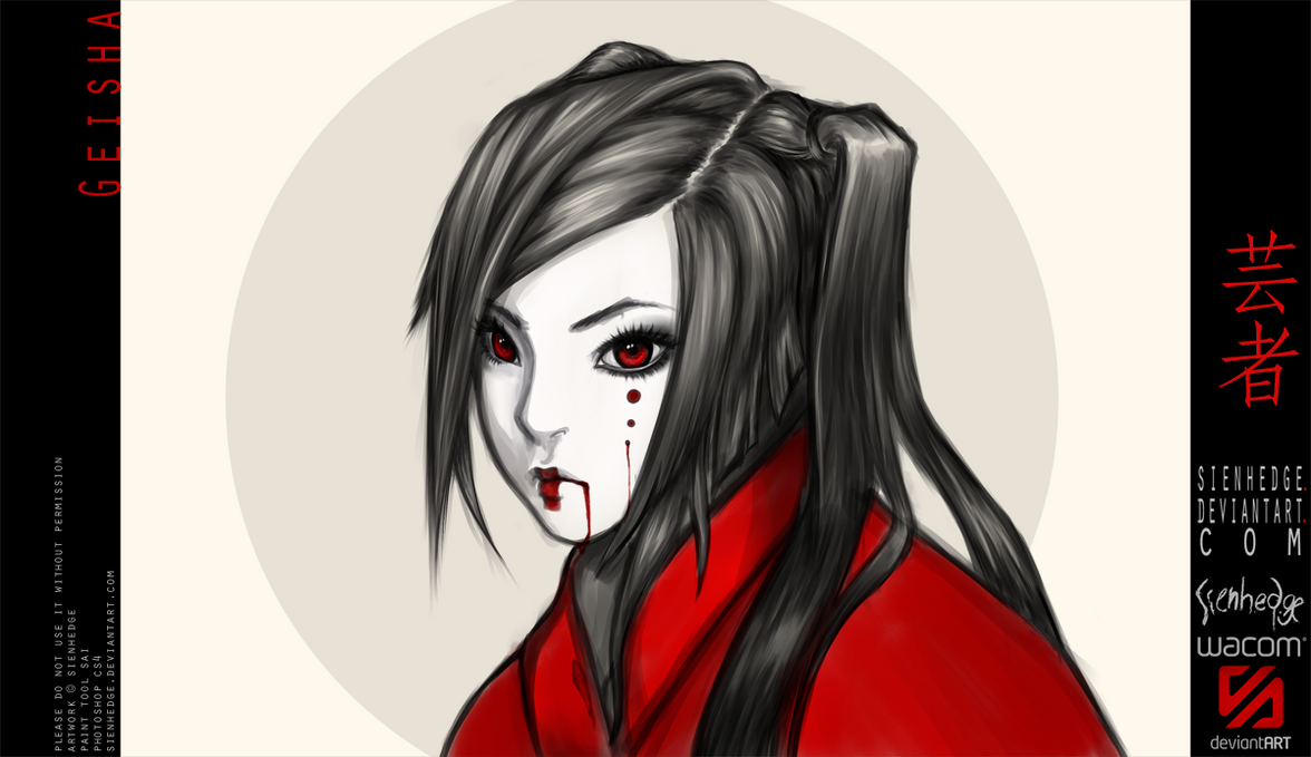Geisha by shallete