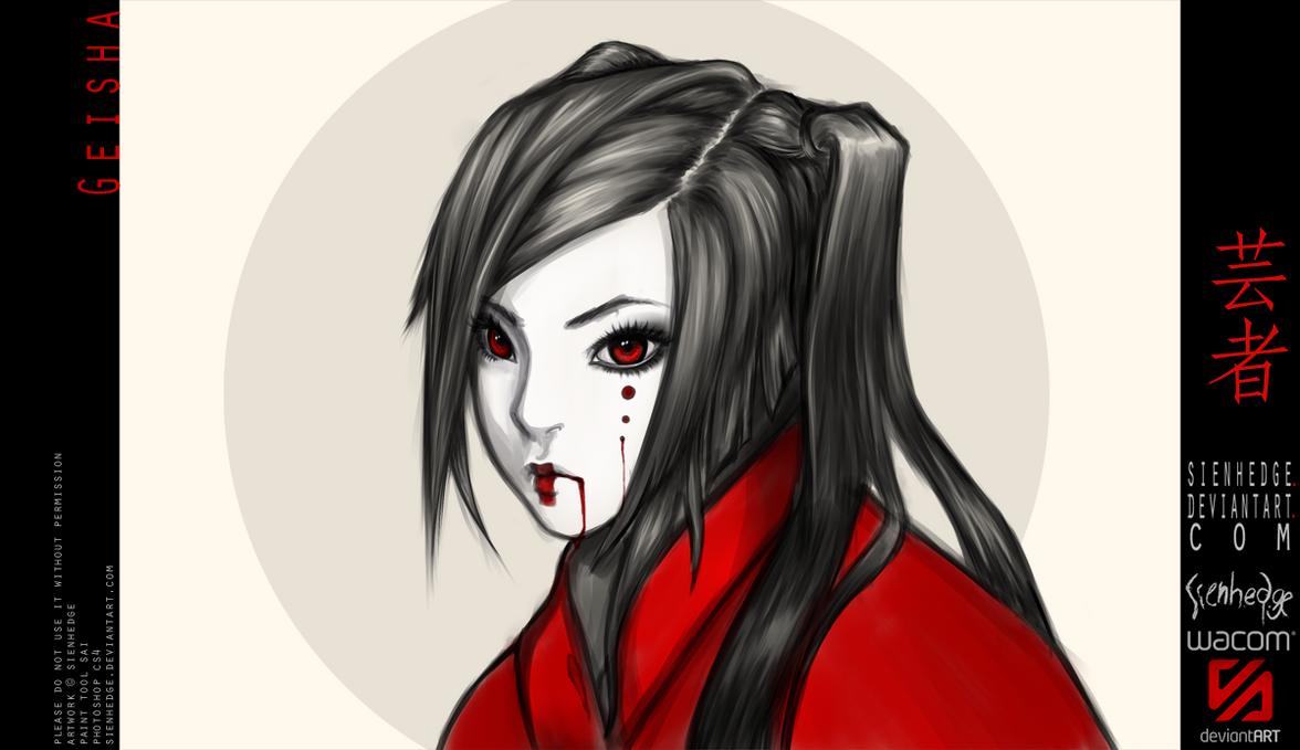 Geisha by shallete