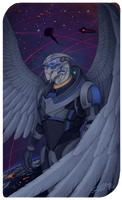 Garrus by shallete