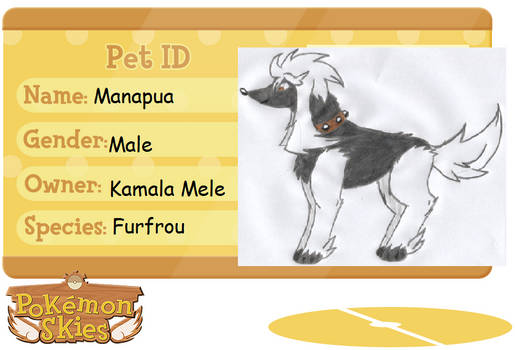 Manapua the Furfrou