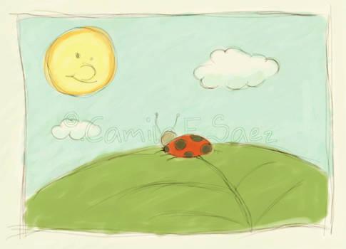 La chinita y el sol