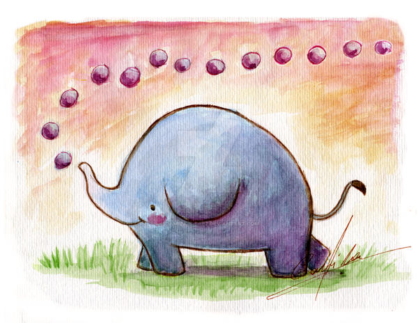 Elefante by Camila-E-Saez