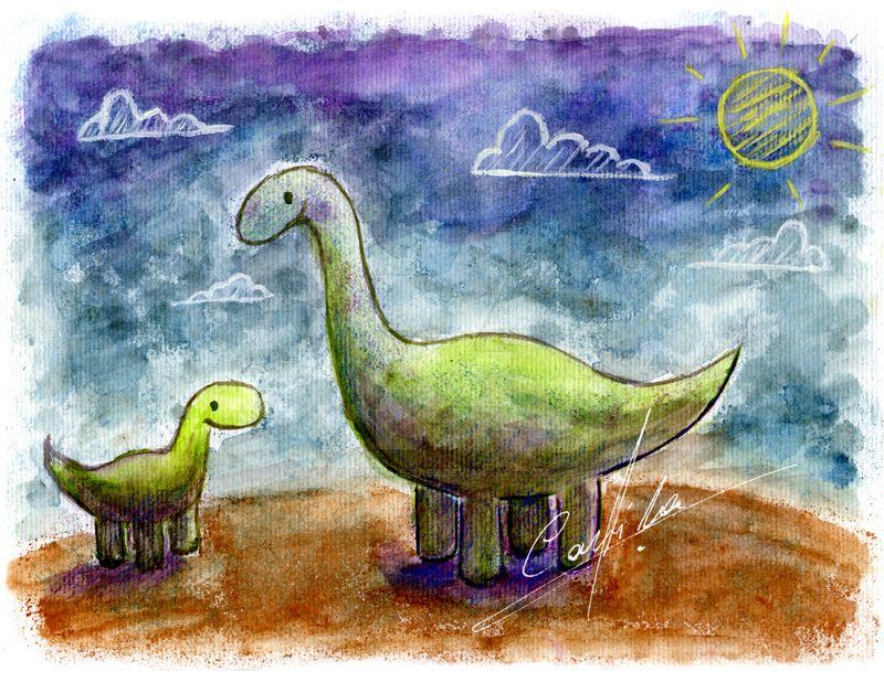 Dinosaurio by Camila-E-Saez