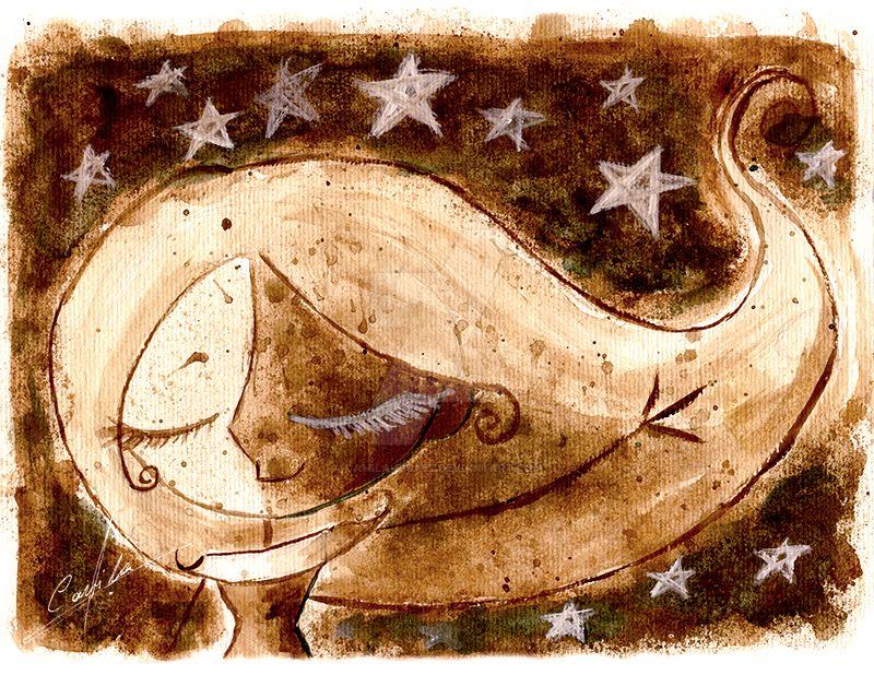 Estrellas Monocromatico by Camila-E-Saez