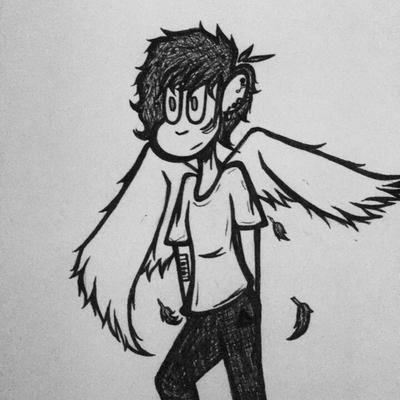 Angel of music  by ArtisticRebelWolf