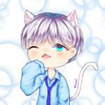 Suga white cat by siel39