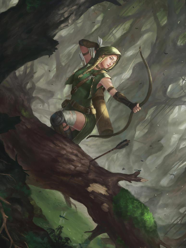 Swamp Archer by kevinsidharta