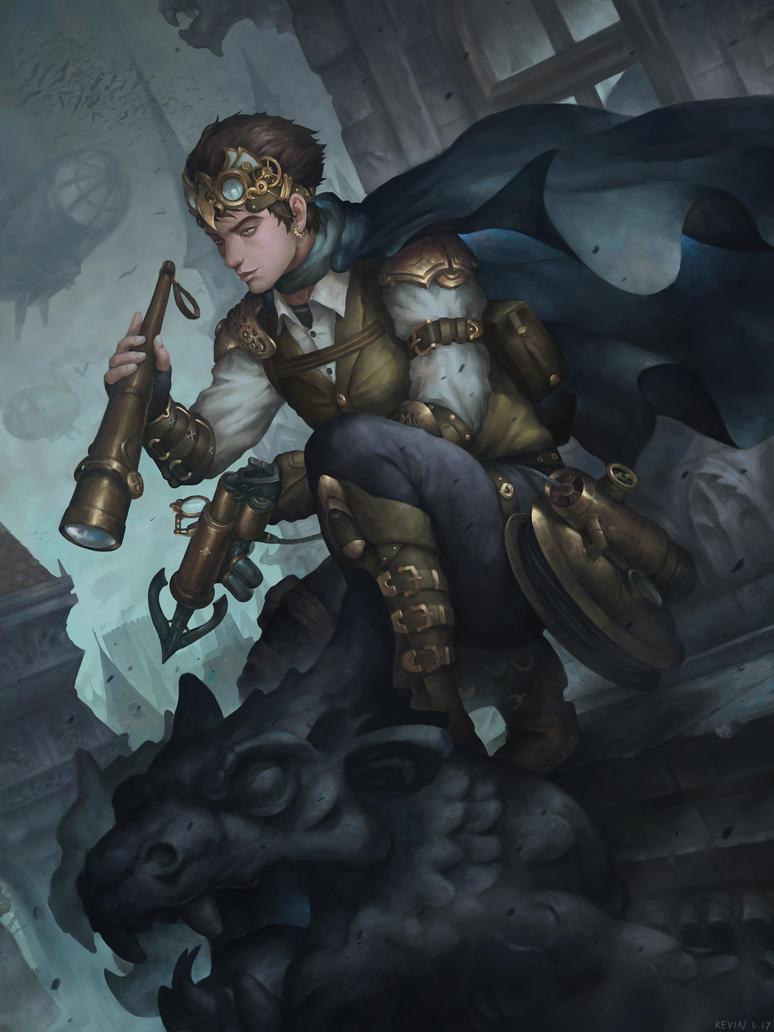 Steampunk Thief by kevinsidharta