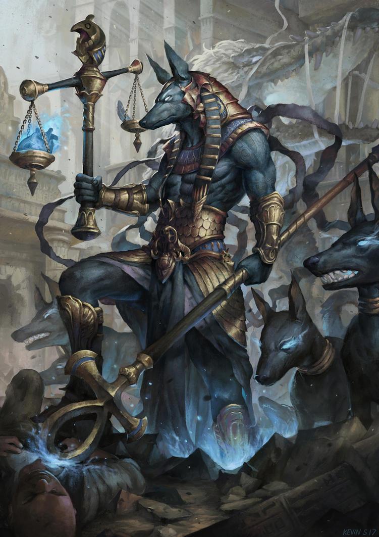 Anubis by kevinsidharta