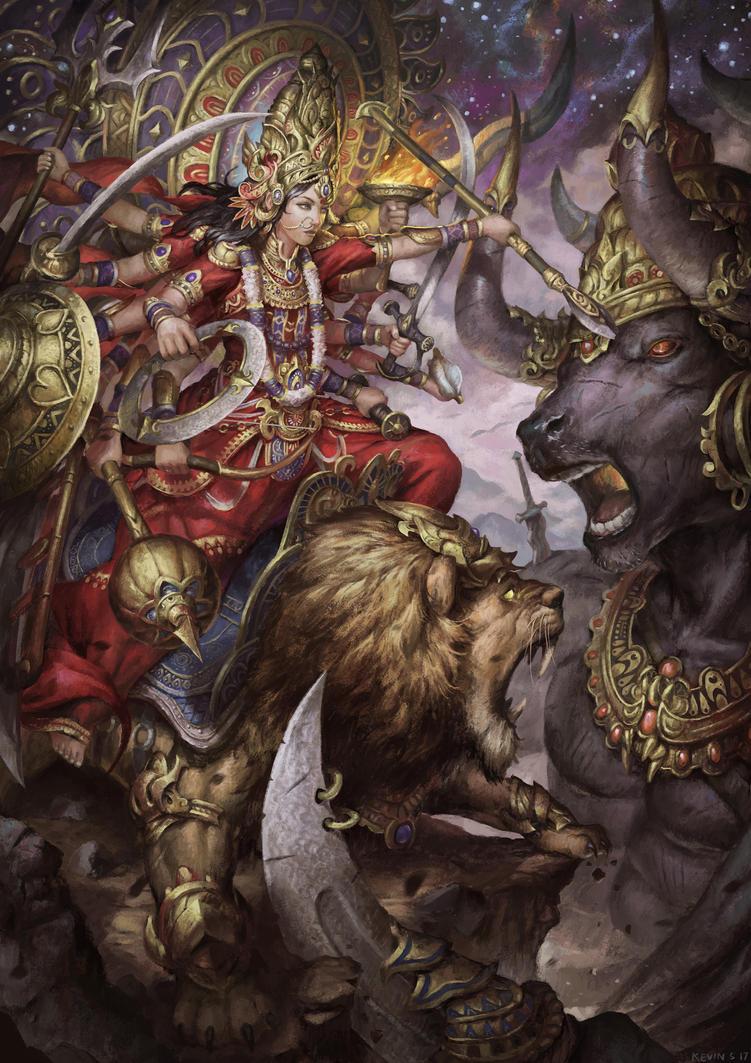 Durga by kevinsidharta