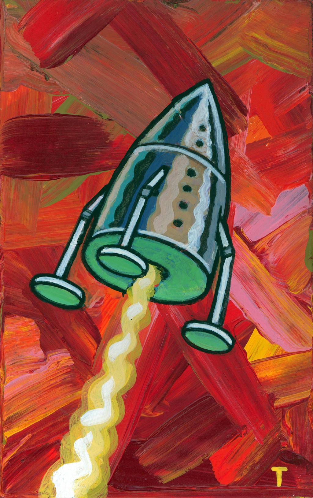 Mars Landing by peterthorpe