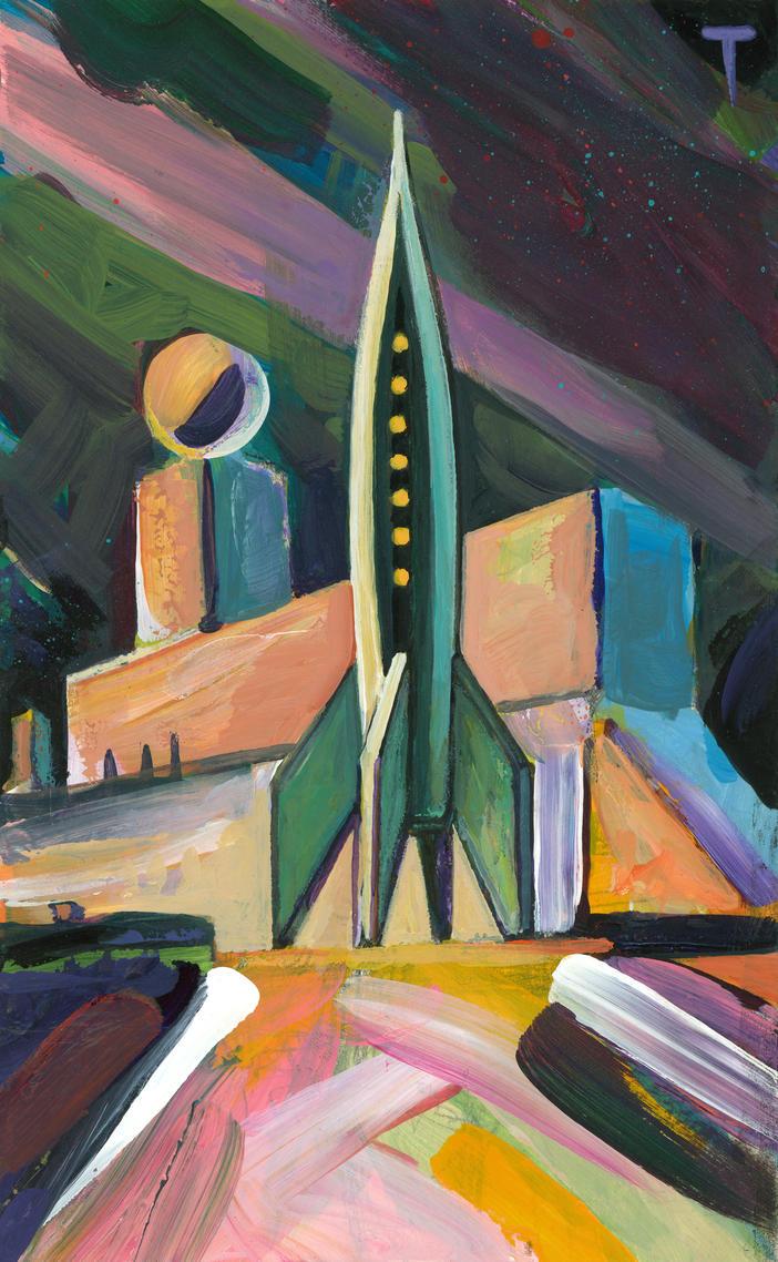 Rocket #23 by peterthorpe