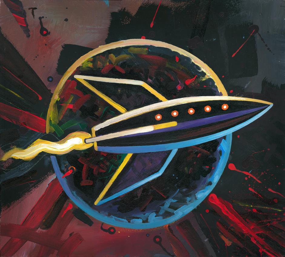 Rocket #48 by peterthorpe