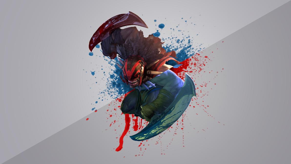 FREE Dota 2 Bloodseeker Wallpaper 1920x1080 By DandaPixel