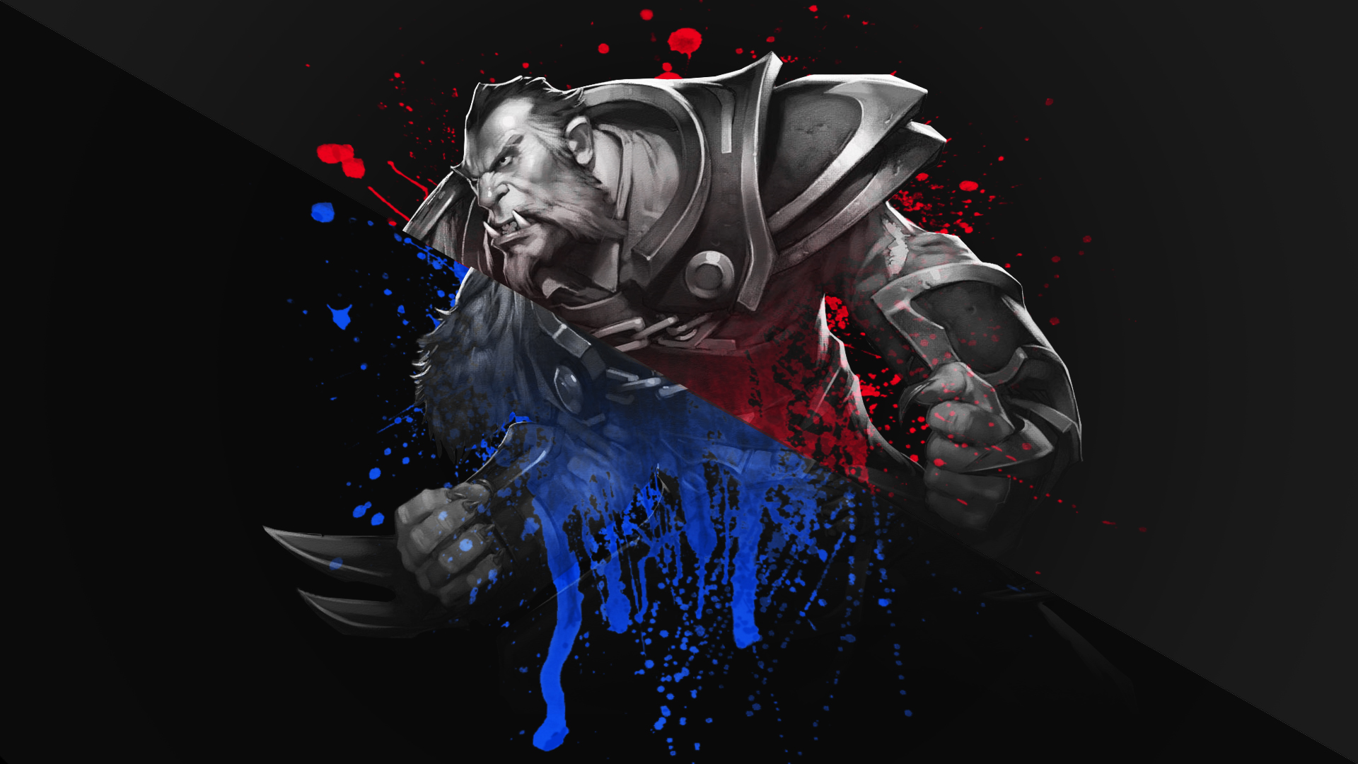free dota 2 lycan wallpaper 1920x1080 by dandapixel on deviantart