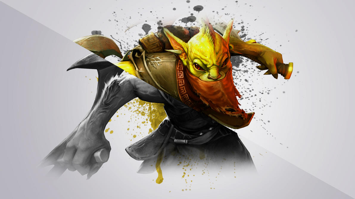 free dota 2 bounty hunter wallpaper 1920x1080 by dandapixel on