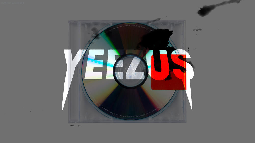 Yeezus real album cover