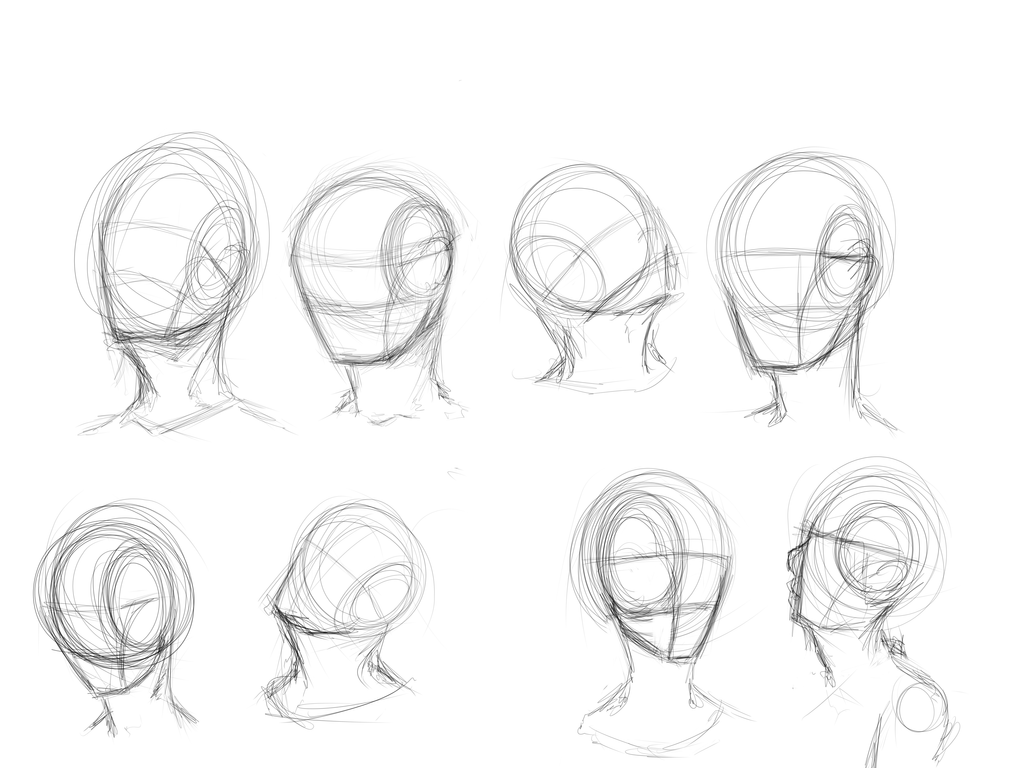 Face angles by Kiwi-in-a-box on DeviantArt