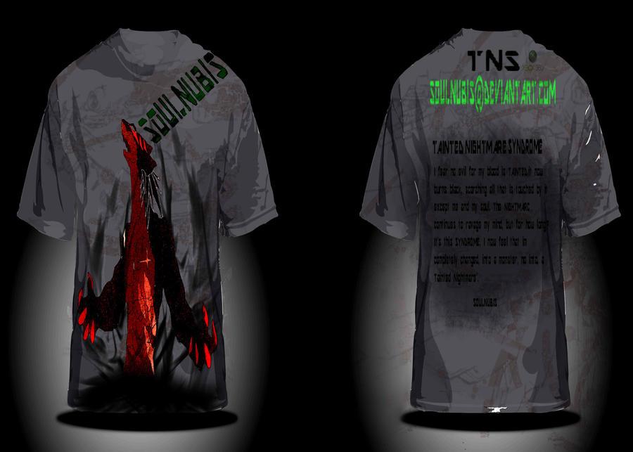 TNS tshirt Rage series