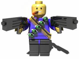Lego Man by syntaxguy