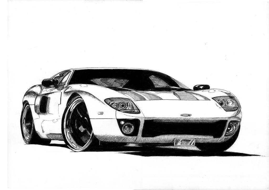 Ford Gt By Aero Hdt