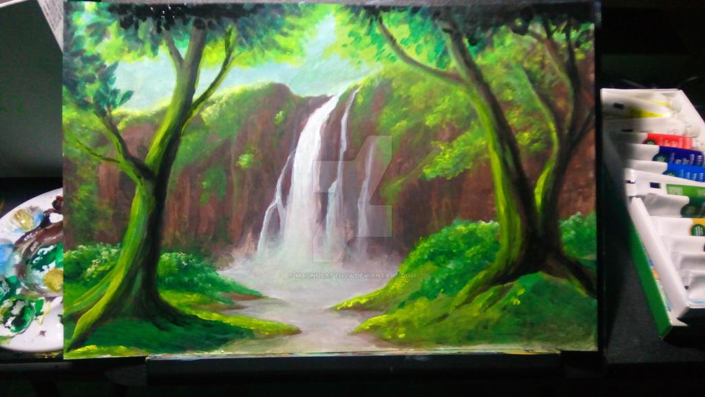 Waterfalls #1 by magnusatthva