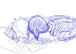 Un beso de Shizune