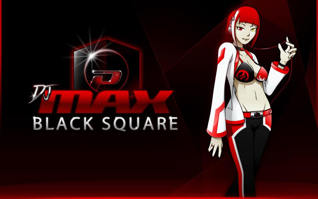 DJMAX Black Square Wallpaper by AuraHACK