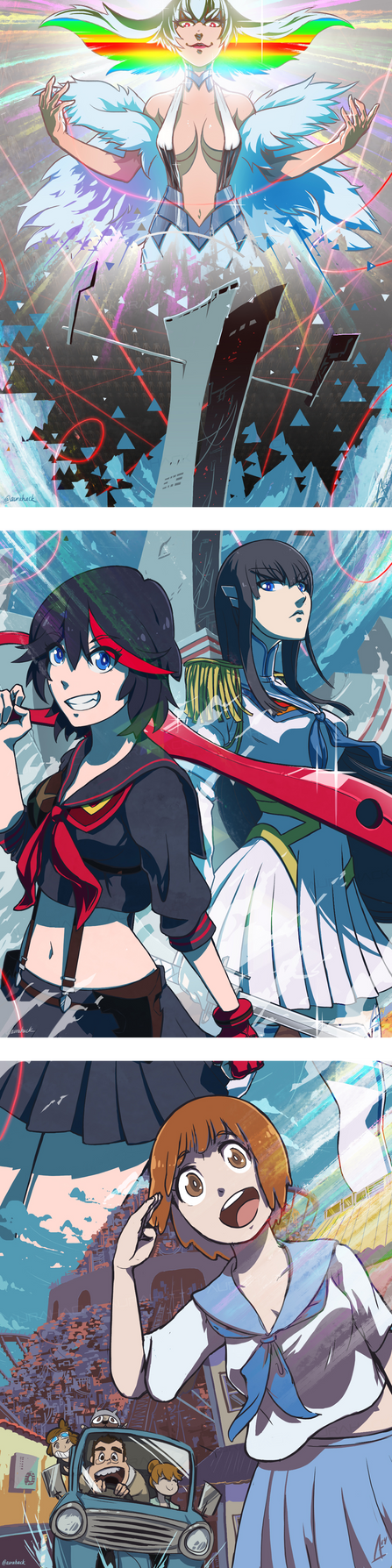 KILL LA KILL by AuraHACK