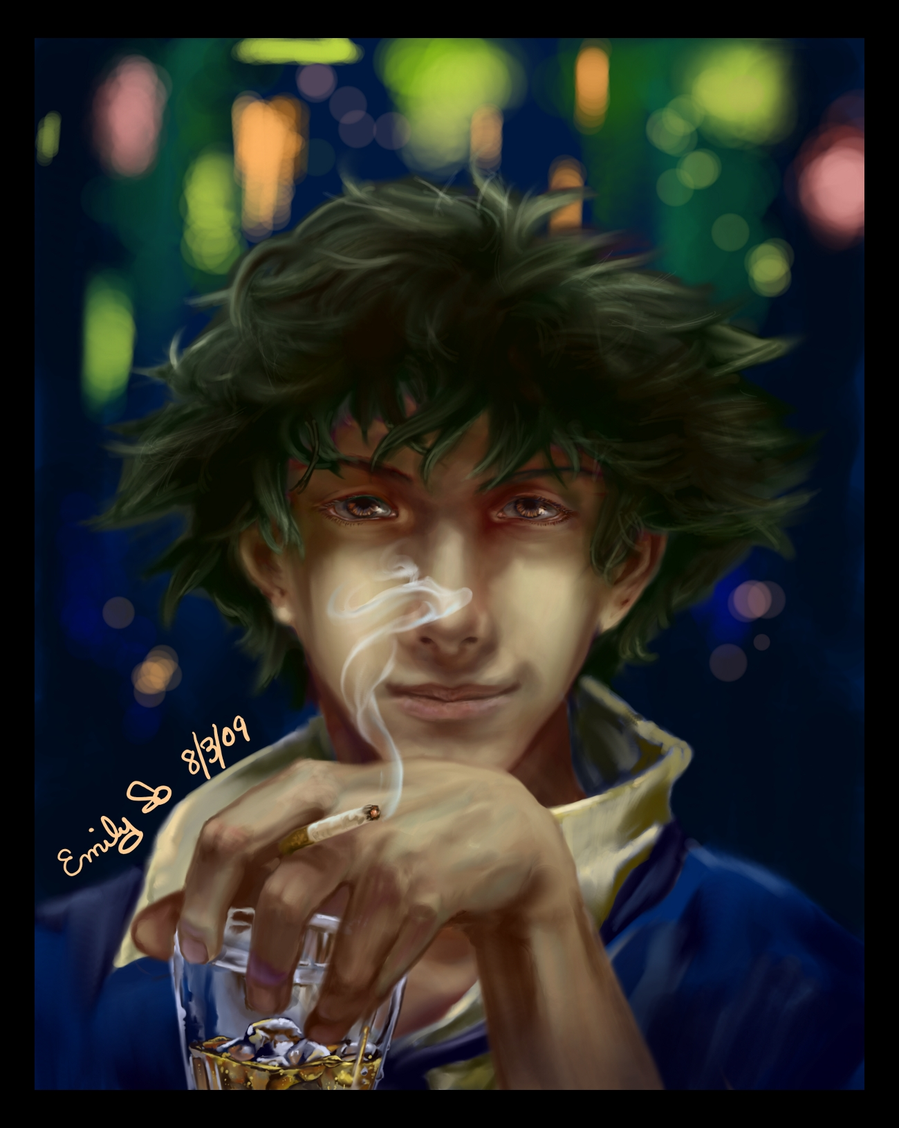Fanart spike spiegel by kiiroikimono on deviantart for Spiegel tv download videos