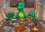 Dinnersaurus Holiday Feast