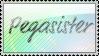 Pegasister Stamp by jaydensunn