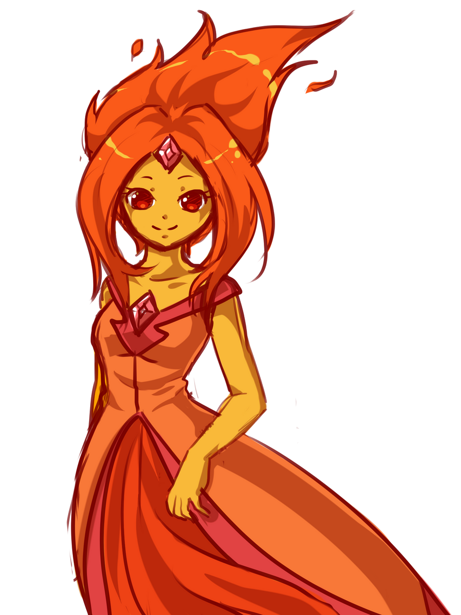 Flame Princess: WIP by RaineSeryn