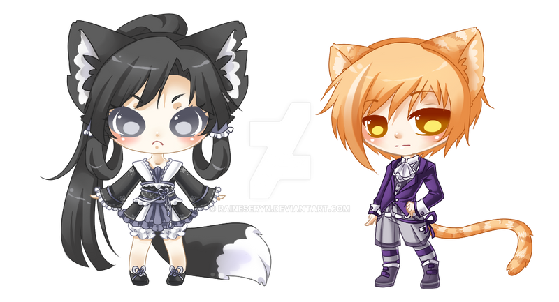 Kogaravin: Custom Adopts: Not for sale by RaineSeryn