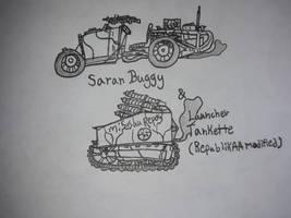 Saran Buggy and Tankette
