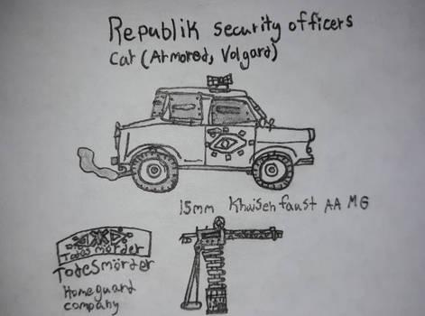 Republik Security Officer's Car, Volgard