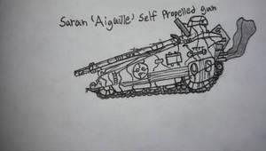 Saran 'Aiguille' Self-Propelled Gun