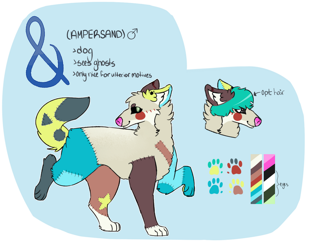Ampersand Reference Sheet by Official-Fallblossom