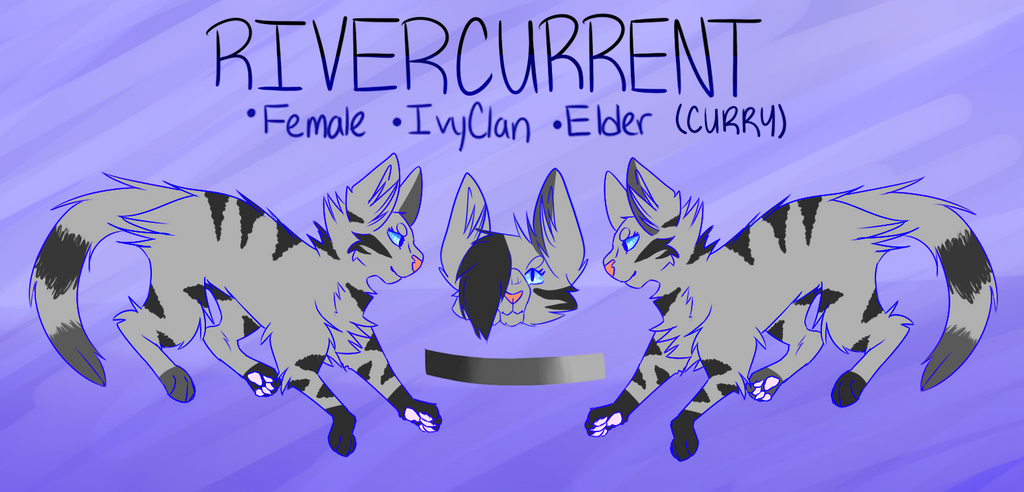 rivercurrent reference sheet by Official-Fallblossom