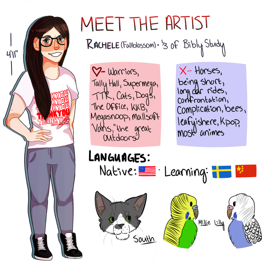 Meet the Artist! by Official-Fallblossom