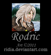 [Commission] Rodric Helmstrass by ridia