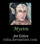 [Commission] Mystra by ridia