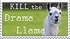 Kill the Drama Llama by ridia