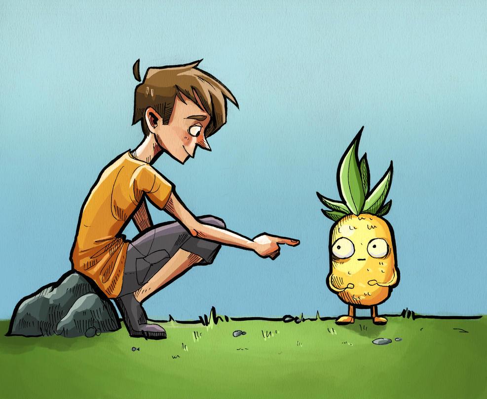 Mr. Pineapple by Zumire